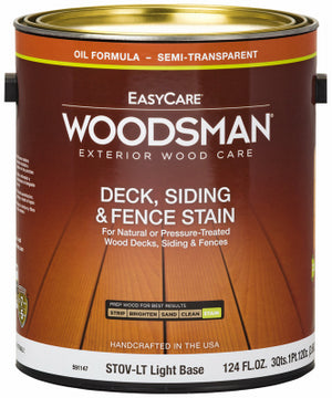 Woodsman Premium Oil Semi-Transparent Deck, Siding and Fence Stain