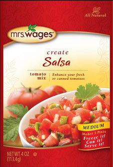 Mrs. Wages® Medium Salsa Tomato Mix