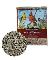 Feathered Friends  SUNFLOWER HEARTS