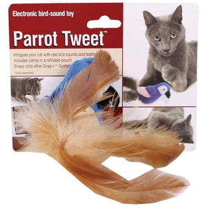 PARROT TWEET CAT TOY