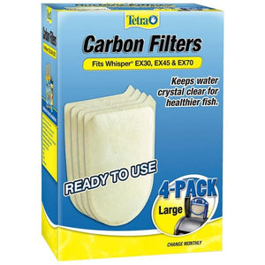 TETRA WHISPER EX CARBON FILTER CARTRIDGE
