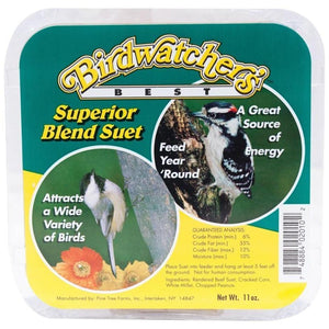 BIRDWATCHER'S BEST SUPERIOR BLEND SUET