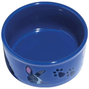 KAYTEE PAW-PRINT PETWARE BOWL RABBIT