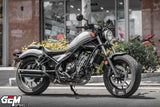 Honda Rebel CMX 300 500 GEM CLASSIC RENZO twin exhaust classic come with slipon FULLSYSTEM