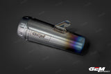 GEM SPEED EXHAUST TITANIUM GP PRO