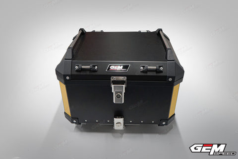 GEM SPEED TOP BOX 50L BLACK STEEL