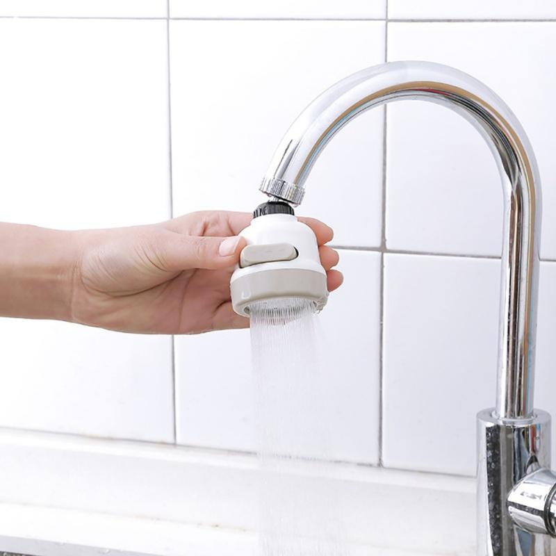 3-Mode Movable Faucet Head