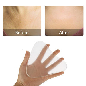 ANTI-WRINKLE SILICONE CHEST PADS