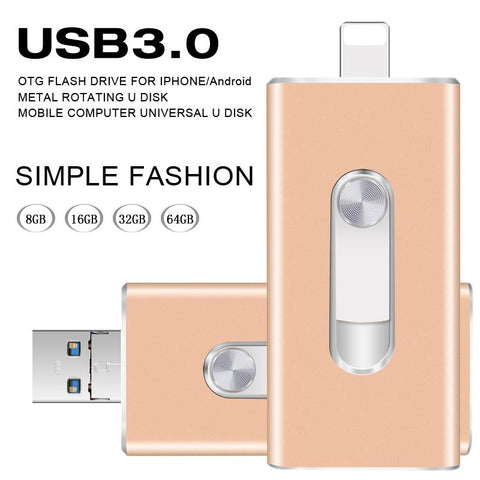 Image of 3in1 Smartphone Flash Drive