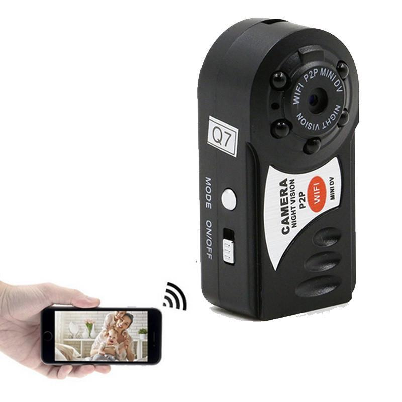 Mini Wifi DVR Wireless IP Camcorder  Night Vision Motion Detection Built-in Microphone