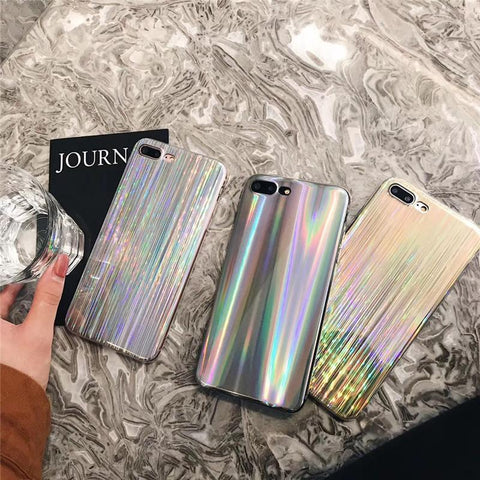 RAINBOW GLITTER IPHONE CASE