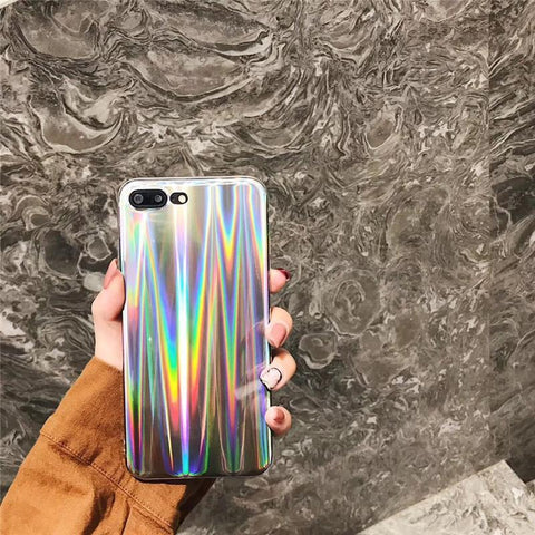 Image of RAINBOW GLITTER IPHONE CASE