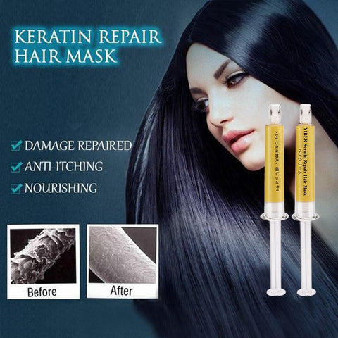 Keratin Repair Hair Mask, Dry Damaged maintenance Keratin