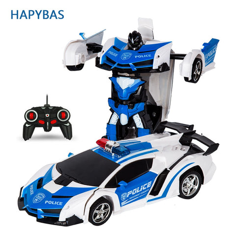 Image of Car Transformation Robots Sports Vehicle
