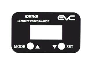 Matte Black Color-plate for iDRIVE Interface
