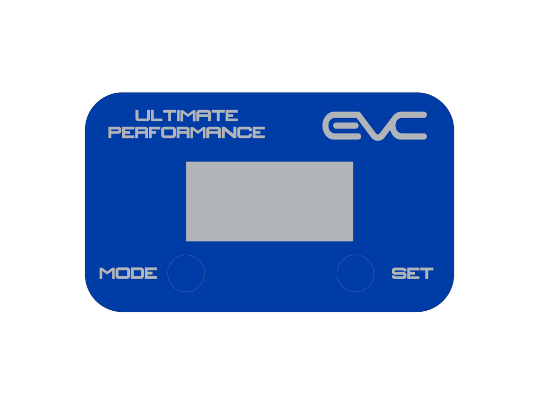 Blue EVC Face Plate