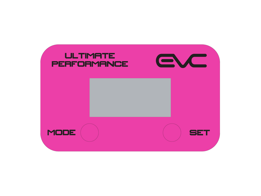 Pink EVC Face Plate