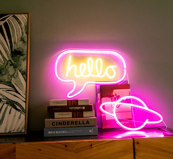 """Hello"" Neon Light"