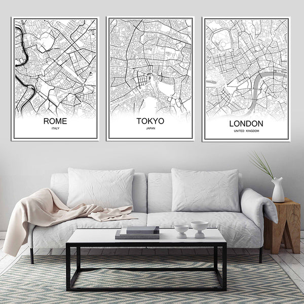 Retro City maps Over 30 City's