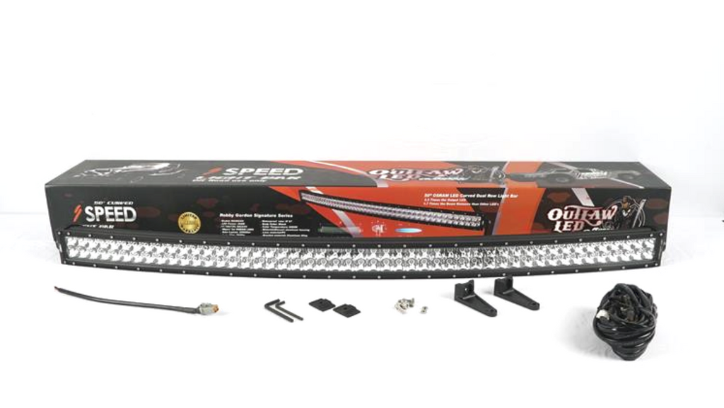 New Product Release: 50 inch LED Curved Light Bar