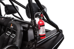 Speed FIRE EXTINGUISHER WITH QUICK-RELEASE BRACKETS
