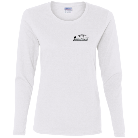 SPEED Women's Long Sleeve T-Shirt (all-black Speed logo)