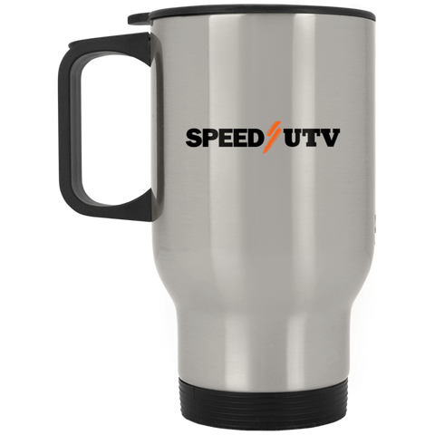Speed UTV Silver Stainless Travel Mug