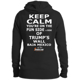 KEEP CALM Women's Pullover Hoodie