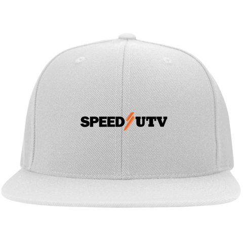 Speed UTV Flat Bill Twill Flexfit Cap