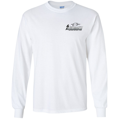SPEED Youth's Long Sleeve T-Shirt (all-black Speed logo)