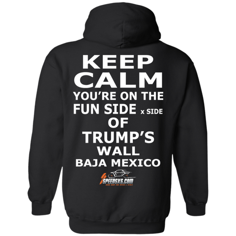 KEEP CALM Men's Pullover Hoodie