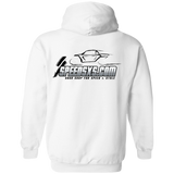 SPEED Men's Pullover Hoodie (all-black Speed logo)