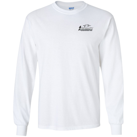 SPEED Long Sleeve Cotton T-Shirt (all-black Speed logo)
