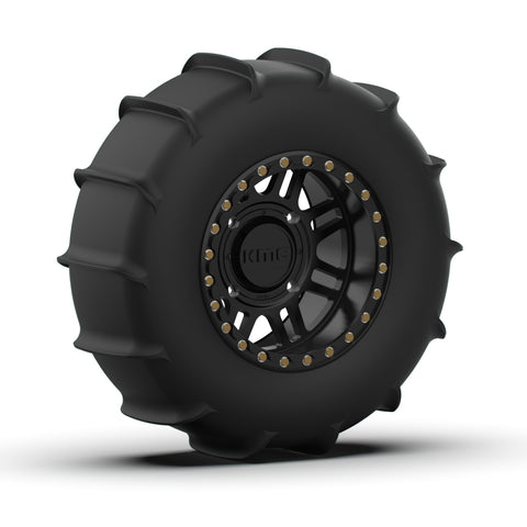 KMC Cage and EFX 33 inch Sand Slinger Paddle Tire Kit