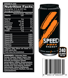speed energy drink fuel nutrition facts