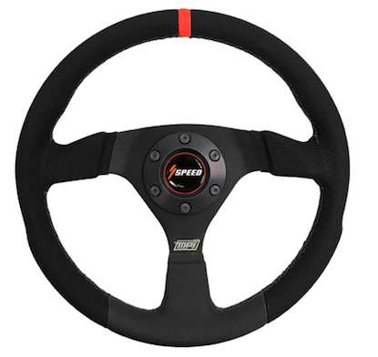 Speed F-13B HIGH-GRIP STEERING WHEEL: WILDCAT XX AND TRACKER XTR1000