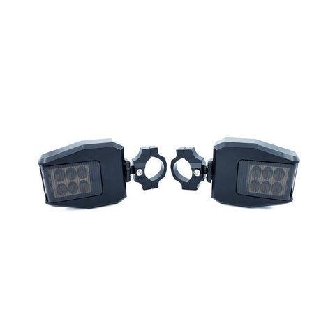 SPEED Side Mirrors With Front-Facing LED Lights