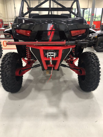 Speed WildCat XX and Tracker XTR1000 Rear Winch Bumper and High Lift Jack Mount