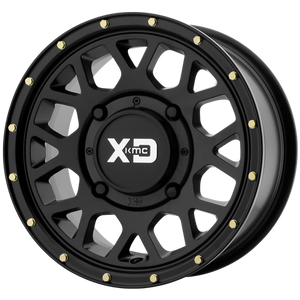 "Speed KMC XS135 15"" Grenade Simulated Beadlock Wheel"