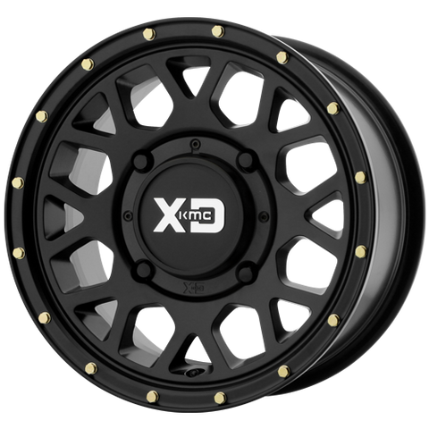 "Speed KMC XS135 15"" Grenade Simulated Beadlock Wheel:  WILDCAT XX AND TRACKER XTR1000"