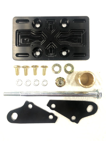 Wildcat XX and Tracker XTR 1000 Steering Rack Gusset and Support Kit