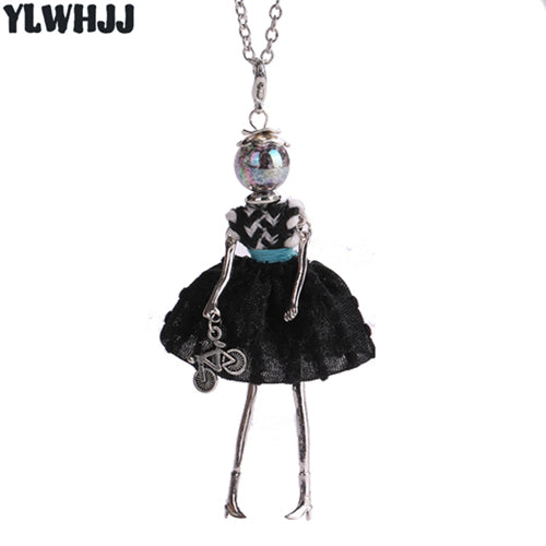 YLWHJJ brand doll cute women pendant necklace