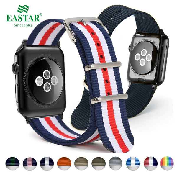 Eastar Woven Nylon Band Watchband For Apple