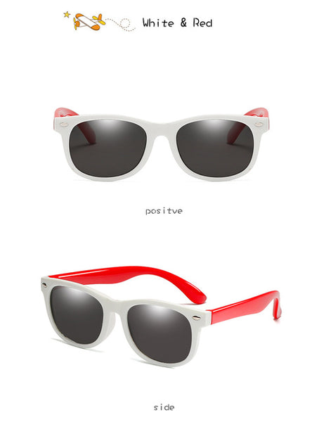 New Polarized Kids Sunglasses for Boys and Girls