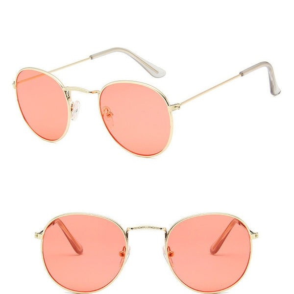 RBROVO 2019 Vintage Oval Classic Sunglasses for Women/Men