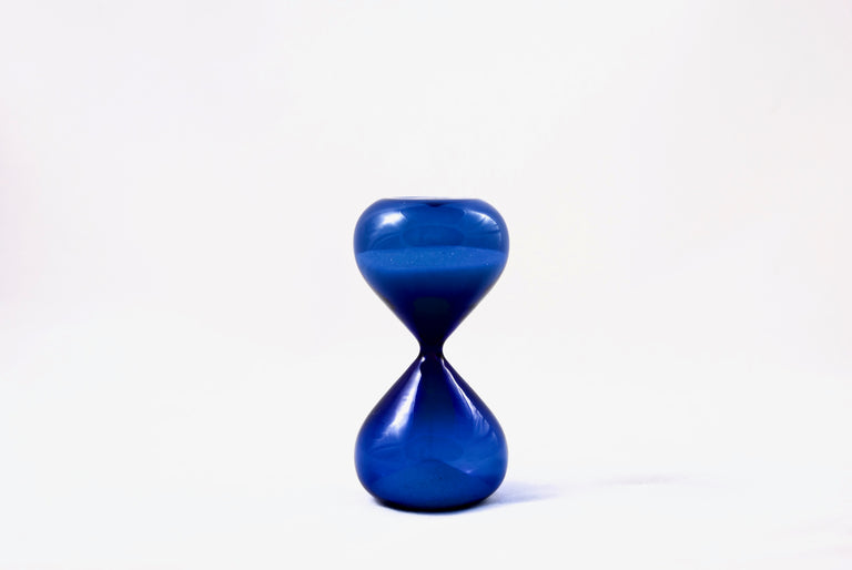 Hourglass blue 5 mins - Hightide