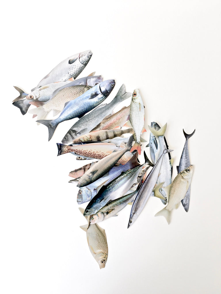 Paper Bookmarks - Fish
