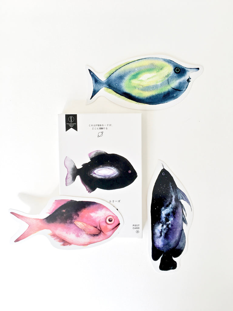 Post Card Set - Fish