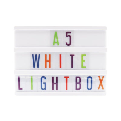 A5 Small White Lightbox - Case of 6