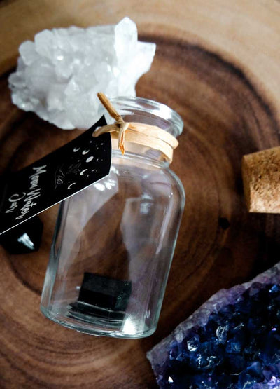 Crystal Charged Moon Water Jar - Case of 3